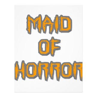 Maid of Horror Letterhead