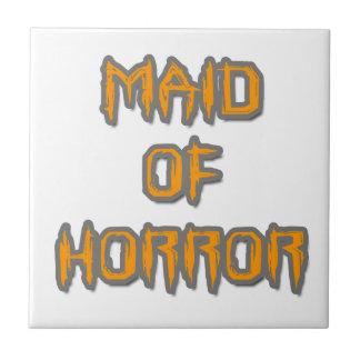 Maid of Horror Tile