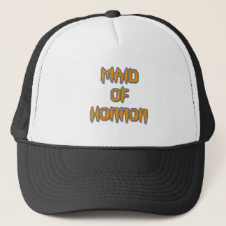 Maid of Horror Trucker Hat