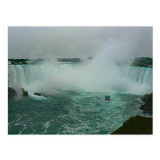 Maid of the mist and horseshoe Falls Postcard