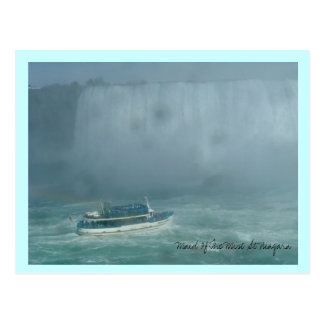Maid Of The Mist At Niagara Postcard