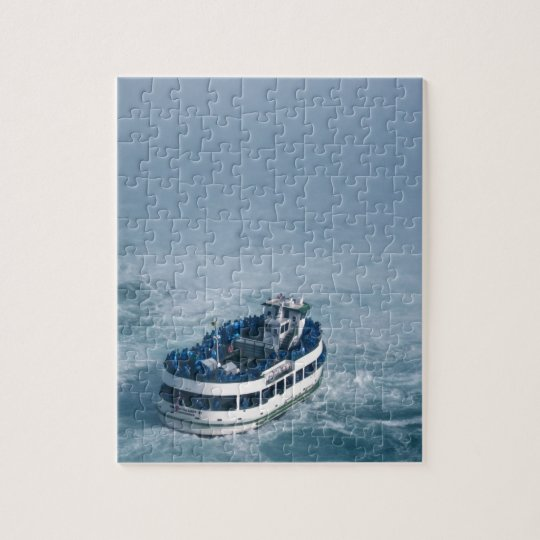 Maid of the Mist Close Up Niagara Falls, Canada Jigsaw Puzzle