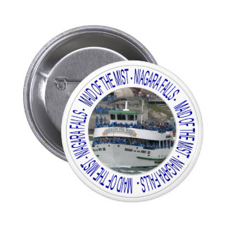 Maid of the mist - Niagara Falls 2 Inch Round Button