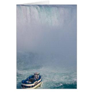 Maid of the Mist Rainbow Niagara Falls, Canada Card
