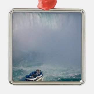 Maid of the Mist Rainbow Niagara Falls, Canada Metal Ornament