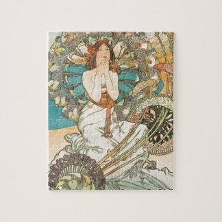 Maiden in Prayer Jigsaw Puzzle