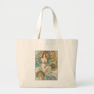 Maiden in Prayer Large Tote Bag