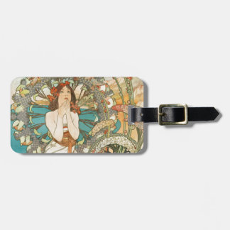 Maiden in Prayer Luggage Tag