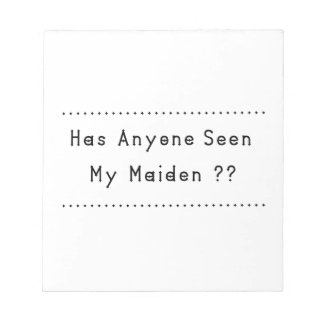 Maiden Notepad