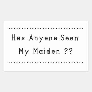 Maiden Sticker