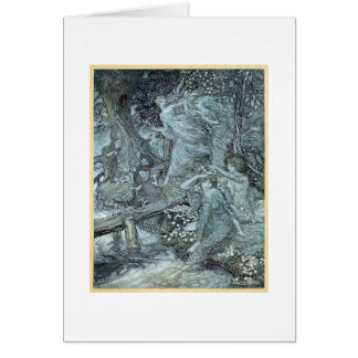 Maidens in a Forest (Blank Inside) Card