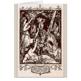 Maidens in the Forest, Card