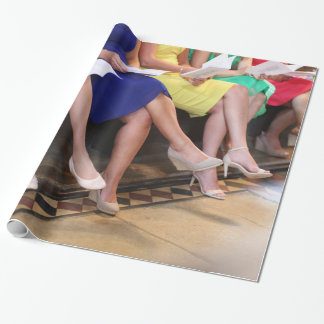 Maids in Waiting Wrapping Paper