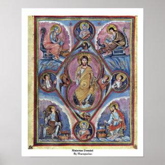 Maiestas Domini By Haregarius Poster