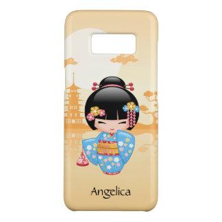 Maiko Kokeshi Doll - Cute Japanese Geisha Girl Case-Mate Samsung Galaxy S8 Case