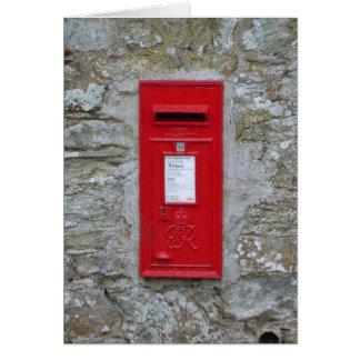 Mail Box Card