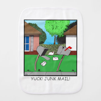 Mail Boxes Burp Cloth