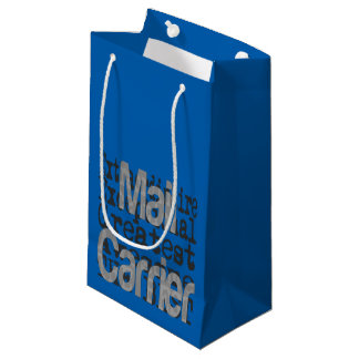 Mail Carrier Extraordinaire Small Gift Bag