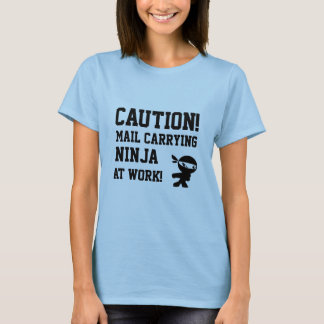 Mail carrier Ninja T-shirt