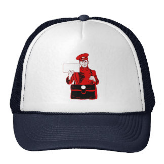 Mail delivery trucker hat