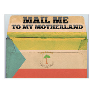 Mail me to Equatorial Guinea Postcard