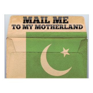Mail me to Pakistan Postcard