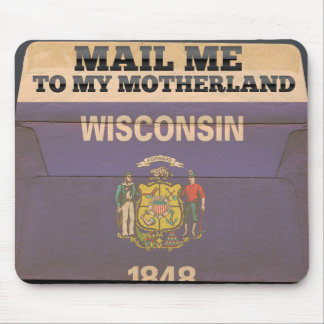 Mail me to Wisconsin Mouse Pads