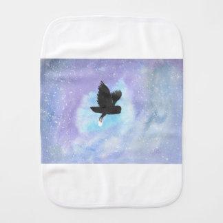 Mail Owl Burp Cloths