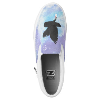 Mail Owl Slip On Shoes