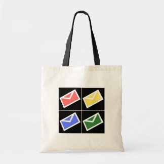 Mail Pop Art Tote Bag