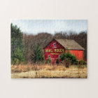 Mail Pouch Barn Jigsaw Puzzle