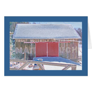 """""""Mail Pouch"""" barn on the National Pike Card"""