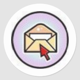 mail round sticker