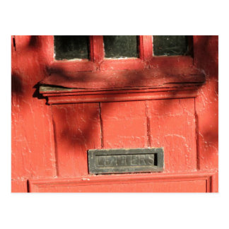 Mail  Slot Postcard