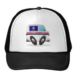Mail Truck KANSAS Trucker Hat