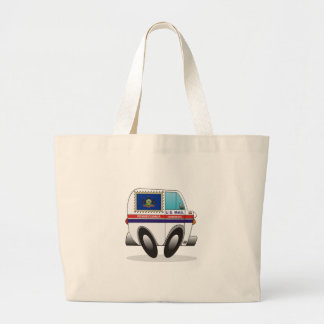 Mail Truck PENNSYLVANIA Large Tote Bag