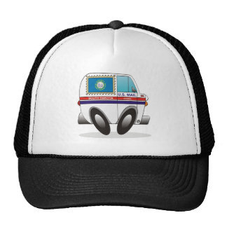 Mail Truck SOUTH DAKOTA Trucker Hat