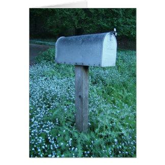 Mailbox at Dusk Card