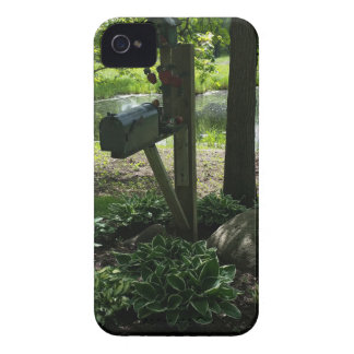Mailbox by the pond iPhone 4 Case-Mate case