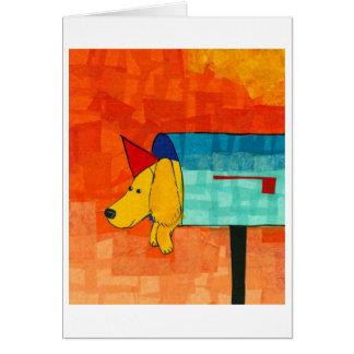 Mailbox Dog Card