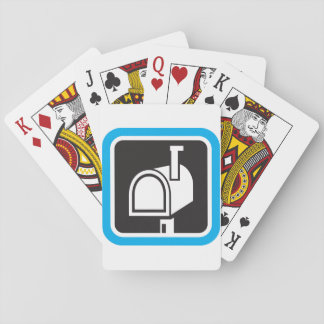 Mailbox Icon Playing Cards