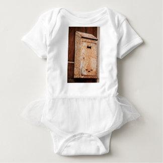 Mailbox rusty outdoors baby bodysuit