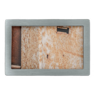 Mailbox rusty outdoors belt buckles