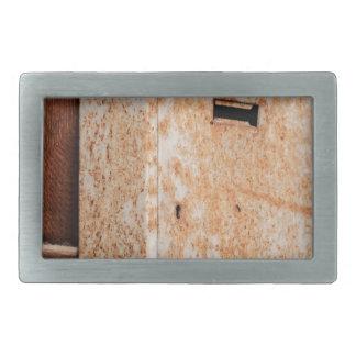 Mailbox rusty outdoors belt buckles
