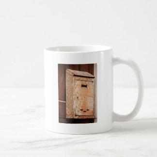 Mailbox rusty outdoors coffee mug
