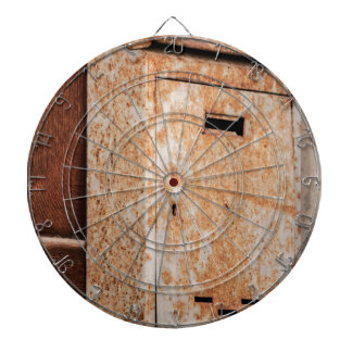 Mailbox rusty outdoors dartboard