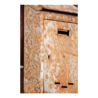 Mailbox rusty outdoors stationery