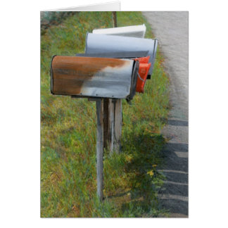 Mailboxes Notecard Note Card