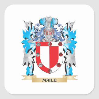 Maile Coat of Arms - Family Crest Sticker