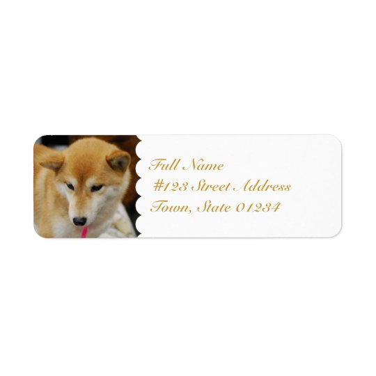 MailingLabel-5 - Customized Return Address Label